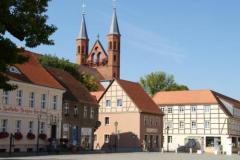 Markt mit St. Marienkirche in Kyritz